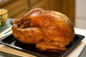 クリスマス料理 七面鳥のロースト